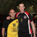 Hernán De Lorenzi junto a Eric Gull
