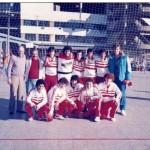 Juveniles de River en 1987