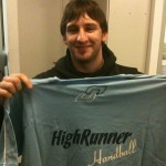 Messi con High Runner ? No, todavía. Es Marcos Diciocco, jugador de UnLu, ganador del concurso de la semana pasada.