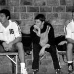 Matías Schulz con sus hermanos en sus orígenes en Polvorines