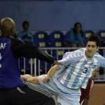 Federico Pizarro jugó todo el partido contra Suecia y fue uno de los puntos más altos del equipo